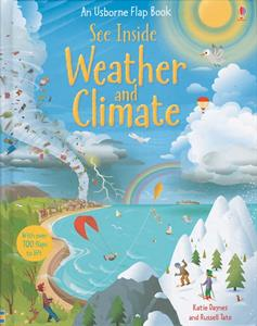 Usborne See Inside Weather and Climate Book for 7 years and up
