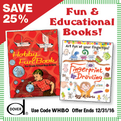 Save 25% on Fun and Educational Books with this code!