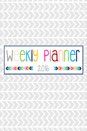 Weekly Planner by Marlene Griffith