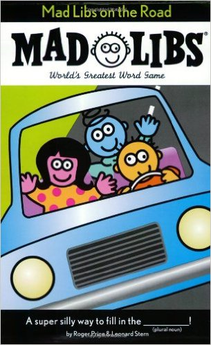 Mad Libs--Great for car travel while helping with English! Besides, they're just funny. ;)