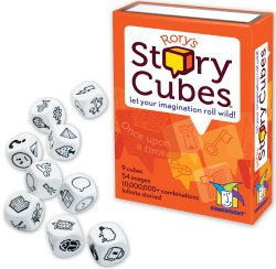Rory's Story Cubes--Good story starter that is a game!