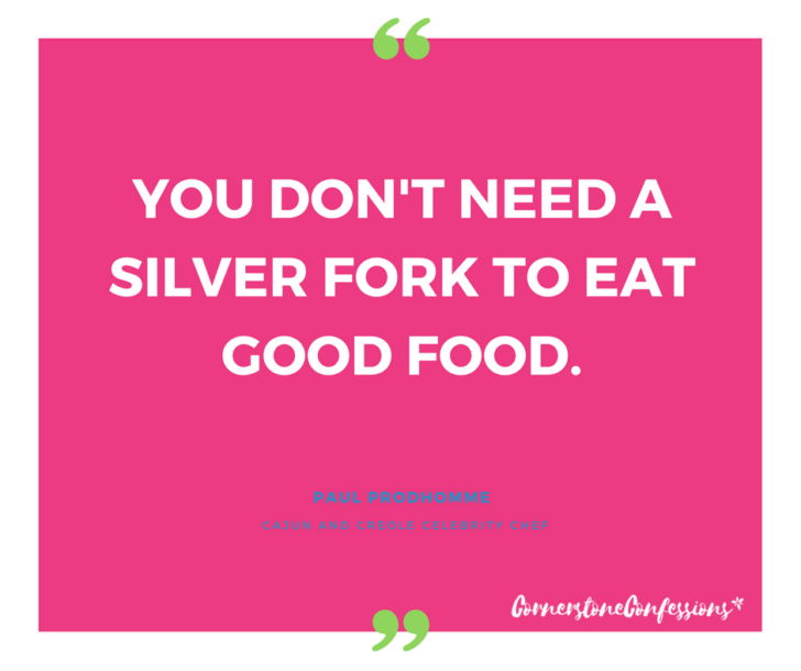 Paul Prodhomme on food