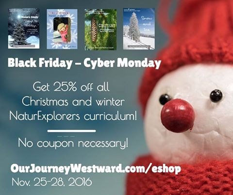 NaturExplorers Curriculum Black Friday Sale