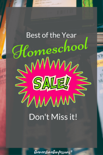 Best of the Year Homeschool Sales! Don't Miss Them!