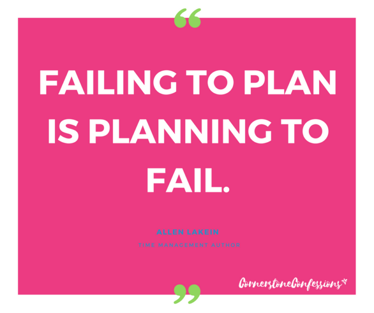 Failing to Plan is Planning to Fail. This website has over 100 different planner resource to help you plan!