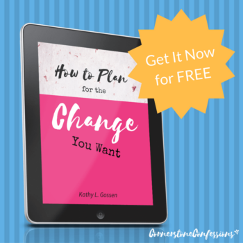 New Subscriber Freebie: How to Plan for the Change You Want