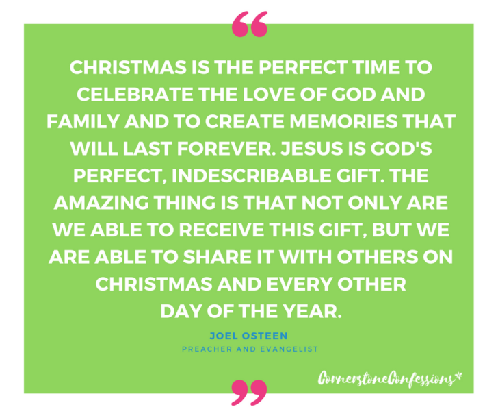 Joel Osteen on Christmas