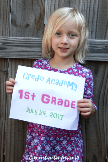 Teacup's 1st Grade Homeschool Curriculum