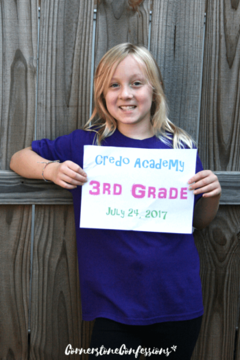 Peanut's 3rd Grade Homeschool Curriculum