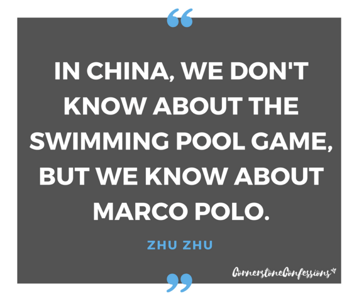 In China, we know about Marco Polo.