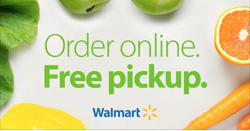 Walmart-Grocery-Pickup $10 Off