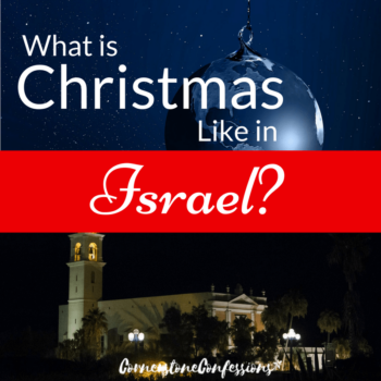 What is Christmas like in Israel?