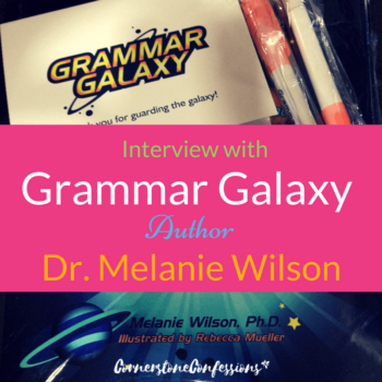 Interview with Grammar Galaxy Author Dr. Melanie Wilson