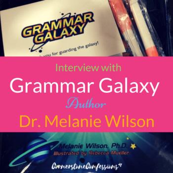 Interview with Grammar Galaxy Author Dr. Melanie Wilson