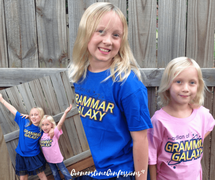 Grammar Galaxy Shirts