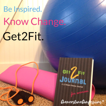 Be Inspired. Know Change. Get2Fit. A 12-Week Fitness Journal for Women