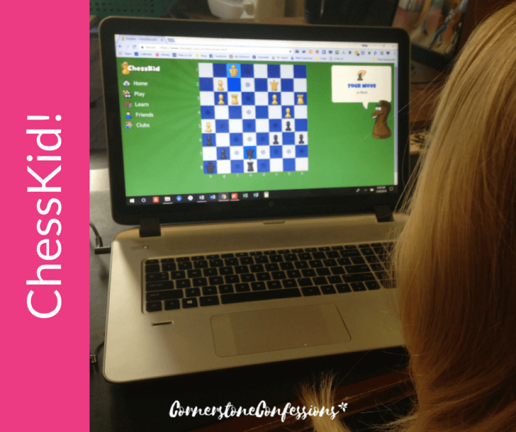 Chesskid abailable on the Homeschool Buyers Coop