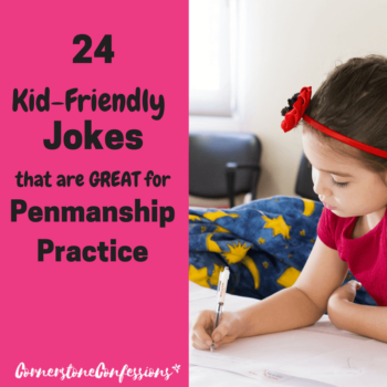 24 Kid-Friendly Jokes That Are Great for Penmanship Practice