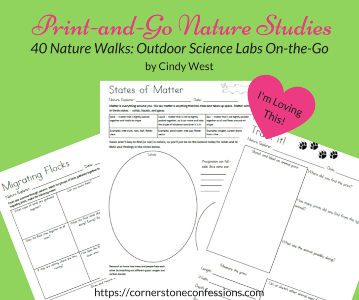 Print and Go Nature Studies