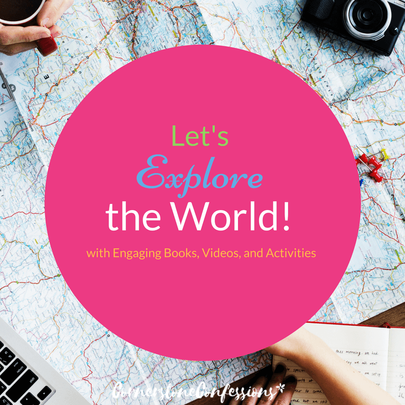 Looking to study world geography?  Be sure to check out this organized list of resources including 5-star books, online videos, downloadable activities & more!