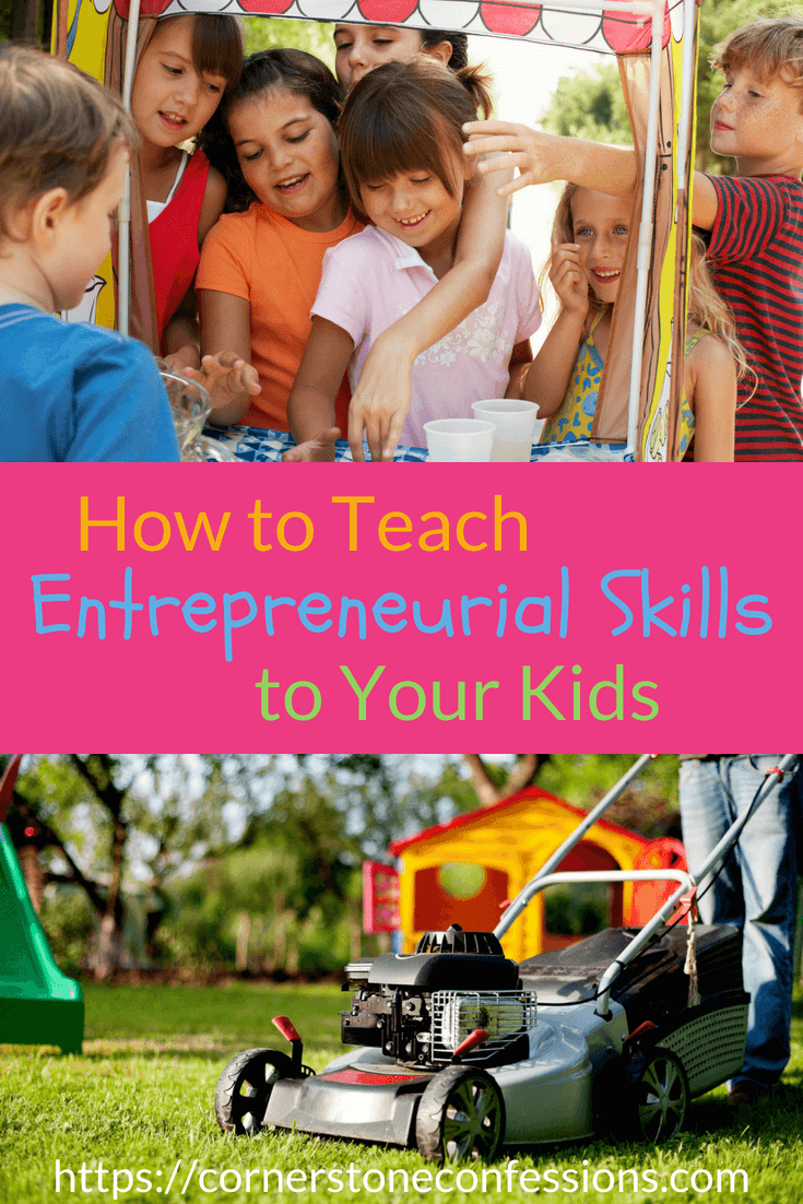 Learn how to teach entrepreneurial skills to your child with the Kingdom Code, a faith-based curriculum written for homeschools and private schools.