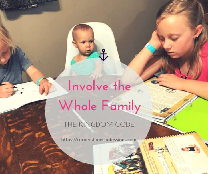 Involve the Whole Family in the Kingdom Code