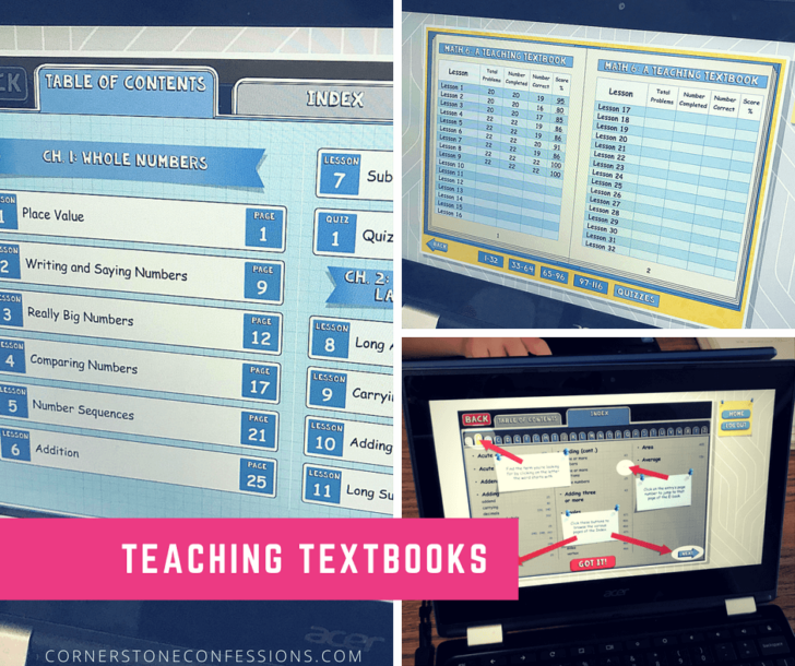 Teaching Textbooks Resources