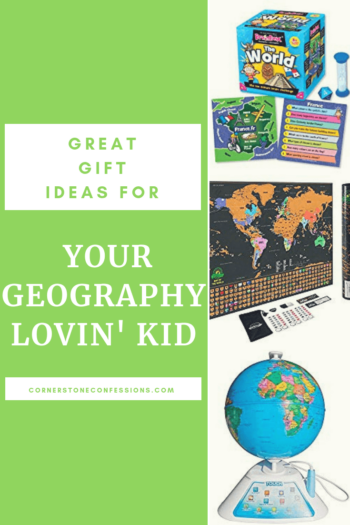 Geography Gift Ideas